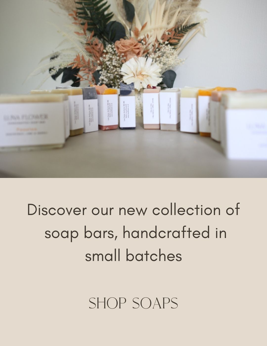 Soap collection mobile image- home